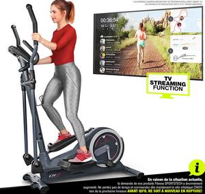 Test et avis sur le vélo elliptique pour débutant Sportstech CX625